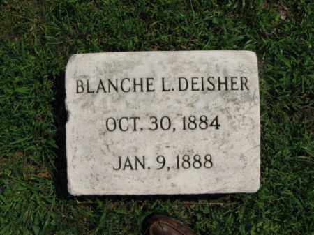 DEISHER, BLANCHE L. - Lehigh County, Pennsylvania   BLANCHE L. DEISHER - Pennsylvania Gravestone Photos