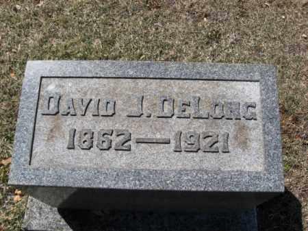 DELONG, DAVID J. - Lehigh County, Pennsylvania | DAVID J. DELONG - Pennsylvania Gravestone Photos