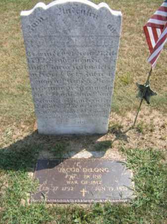 DELONG, JACOB - Lehigh County, Pennsylvania | JACOB DELONG - Pennsylvania Gravestone Photos