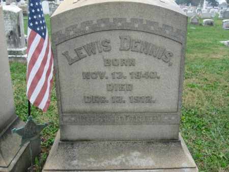 DENNIS, LEWIS - Lehigh County, Pennsylvania   LEWIS DENNIS - Pennsylvania Gravestone Photos