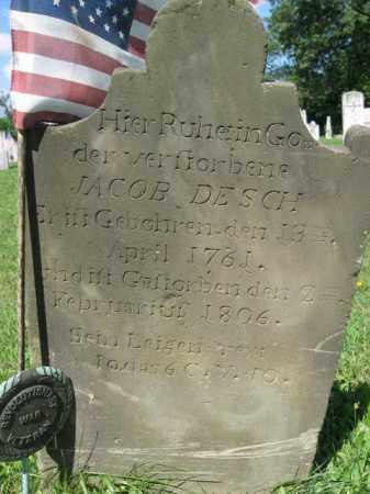 DESCH, JACOB - Lehigh County, Pennsylvania | JACOB DESCH - Pennsylvania Gravestone Photos