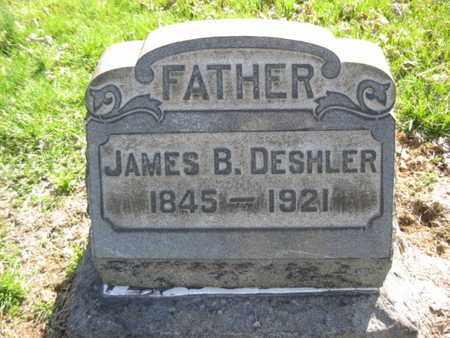 DESHLER, JAMES B. - Lehigh County, Pennsylvania | JAMES B. DESHLER - Pennsylvania Gravestone Photos