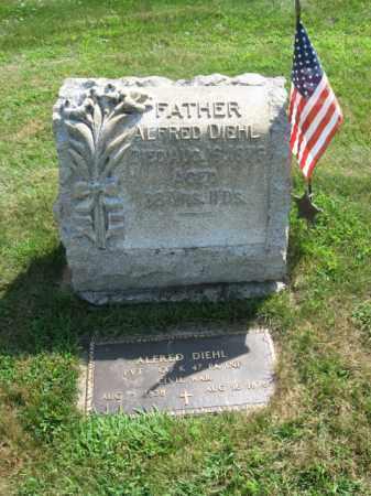 DIEHL, ALFRED - Lehigh County, Pennsylvania | ALFRED DIEHL - Pennsylvania Gravestone Photos
