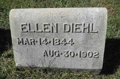DIEHL, ELLEN - Lehigh County, Pennsylvania | ELLEN DIEHL - Pennsylvania Gravestone Photos