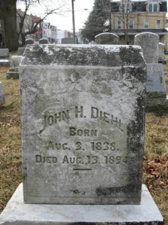 DIEHL, JOHN H. - Lehigh County, Pennsylvania | JOHN H. DIEHL - Pennsylvania Gravestone Photos