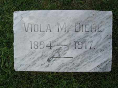 DIEHL, VIOLA M. - Lehigh County, Pennsylvania | VIOLA M. DIEHL - Pennsylvania Gravestone Photos