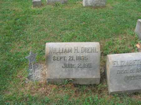 DIEHL, WILLIAM H. - Lehigh County, Pennsylvania | WILLIAM H. DIEHL - Pennsylvania Gravestone Photos
