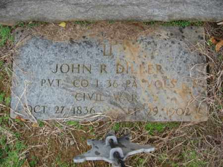 DILLER, PVT.JOHN R. - Lehigh County, Pennsylvania | PVT.JOHN R. DILLER - Pennsylvania Gravestone Photos
