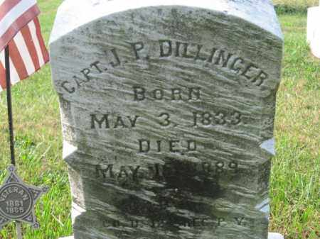 DILLINGER, CAPT. J.F. - Lehigh County, Pennsylvania | CAPT. J.F. DILLINGER - Pennsylvania Gravestone Photos