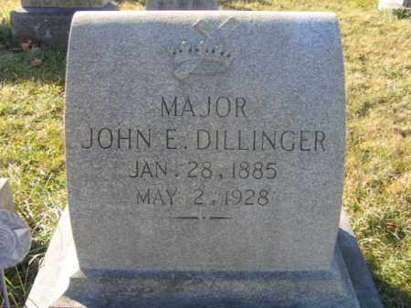 DILLINGER, MAJOR JOHN E. - Lehigh County, Pennsylvania | MAJOR JOHN E. DILLINGER - Pennsylvania Gravestone Photos