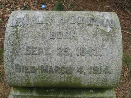 DOHRMAN, CHARLES H. - Lehigh County, Pennsylvania | CHARLES H. DOHRMAN - Pennsylvania Gravestone Photos