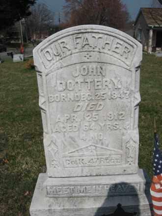 DOTTERY (CW), JOHN - Lehigh County, Pennsylvania | JOHN DOTTERY (CW) - Pennsylvania Gravestone Photos