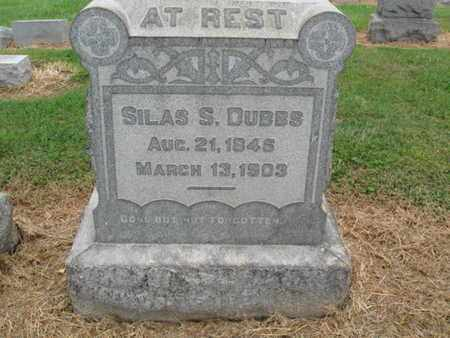 DUBBS, SILAS S. - Lehigh County, Pennsylvania   SILAS S. DUBBS - Pennsylvania Gravestone Photos