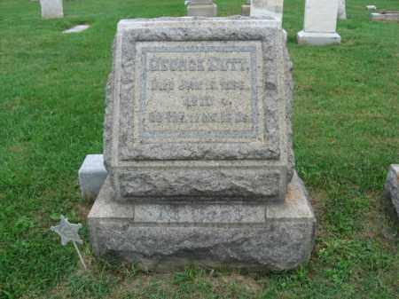 DUTT, GEORGE - Lehigh County, Pennsylvania | GEORGE DUTT - Pennsylvania Gravestone Photos