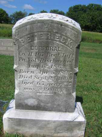 ECK  (CW), CORP. PETER - Lehigh County, Pennsylvania | CORP. PETER ECK  (CW) - Pennsylvania Gravestone Photos