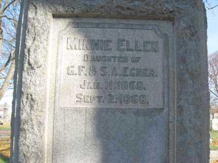 EGNER, MINNIE ELLEN - Lehigh County, Pennsylvania   MINNIE ELLEN EGNER - Pennsylvania Gravestone Photos