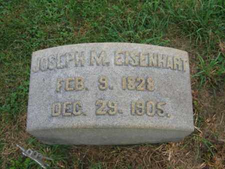 EISENHART, JOSEPH M. - Lehigh County, Pennsylvania | JOSEPH M. EISENHART - Pennsylvania Gravestone Photos