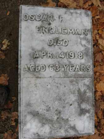 ENGLEMAN, OSCAR F. - Lehigh County, Pennsylvania   OSCAR F. ENGLEMAN - Pennsylvania Gravestone Photos
