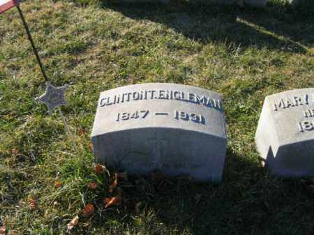 ENGLEMAN, PVT. CLINTON T. - Lehigh County, Pennsylvania   PVT. CLINTON T. ENGLEMAN - Pennsylvania Gravestone Photos