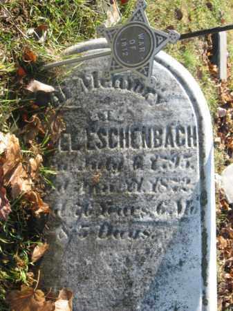ESCHENBACH, DANIEL - Lehigh County, Pennsylvania   DANIEL ESCHENBACH - Pennsylvania Gravestone Photos