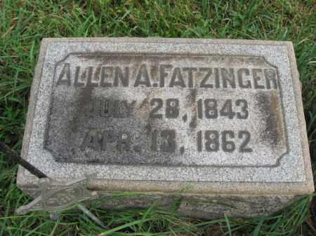 FATZINGER, ALLEN A. - Lehigh County, Pennsylvania | ALLEN A. FATZINGER - Pennsylvania Gravestone Photos