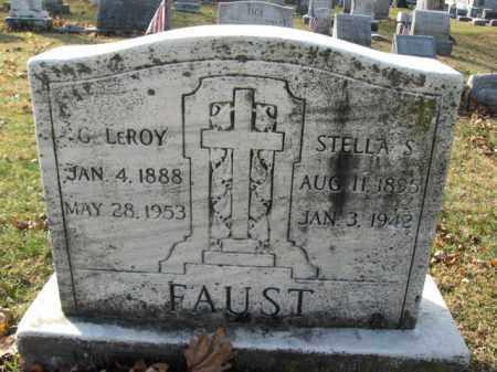 FAUST, G. LEROY - Lehigh County, Pennsylvania | G. LEROY FAUST - Pennsylvania Gravestone Photos