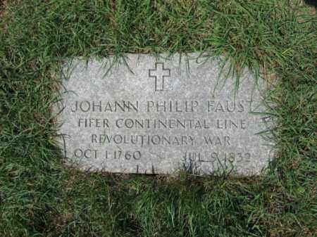 FAUST, JOHANN PHILIP - Lehigh County, Pennsylvania | JOHANN PHILIP FAUST - Pennsylvania Gravestone Photos