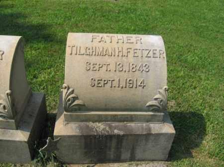FETZER, TILGHMAN H. - Lehigh County, Pennsylvania | TILGHMAN H. FETZER - Pennsylvania Gravestone Photos