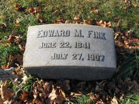 FINK, EDWARD M. - Lehigh County, Pennsylvania   EDWARD M. FINK - Pennsylvania Gravestone Photos