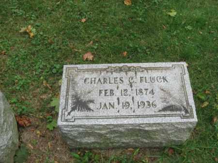 FLUCK, CHARLES C. - Lehigh County, Pennsylvania   CHARLES C. FLUCK - Pennsylvania Gravestone Photos