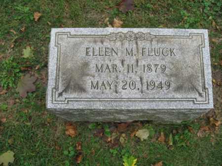 FLUCK, ELLEN M. - Lehigh County, Pennsylvania | ELLEN M. FLUCK - Pennsylvania Gravestone Photos