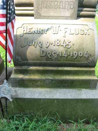 FLUCK, HENRY W. - Lehigh County, Pennsylvania | HENRY W. FLUCK - Pennsylvania Gravestone Photos