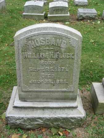 FLUCK, WILLIAM H. - Lehigh County, Pennsylvania   WILLIAM H. FLUCK - Pennsylvania Gravestone Photos