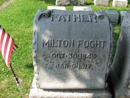 FOGHT, MILTON - Lehigh County, Pennsylvania | MILTON FOGHT - Pennsylvania Gravestone Photos