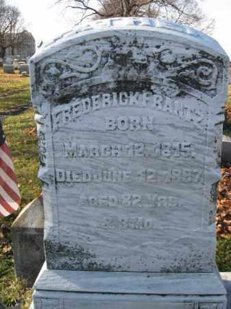 FRANTZ, PVT. FREDERICK - Lehigh County, Pennsylvania   PVT. FREDERICK FRANTZ - Pennsylvania Gravestone Photos