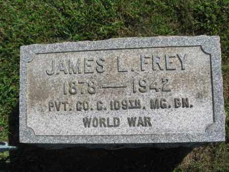 FREY, JAMES L. - Lehigh County, Pennsylvania | JAMES L. FREY - Pennsylvania Gravestone Photos