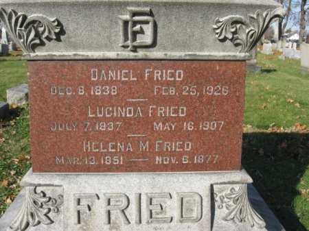 FRIED, PVT. DANIEL - Lehigh County, Pennsylvania   PVT. DANIEL FRIED - Pennsylvania Gravestone Photos