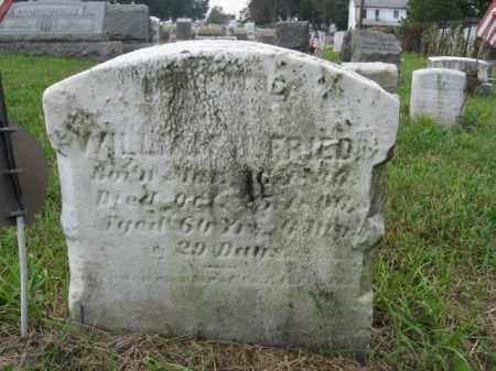 FRIED (CW), WILLIAM H. - Lehigh County, Pennsylvania | WILLIAM H. FRIED (CW) - Pennsylvania Gravestone Photos