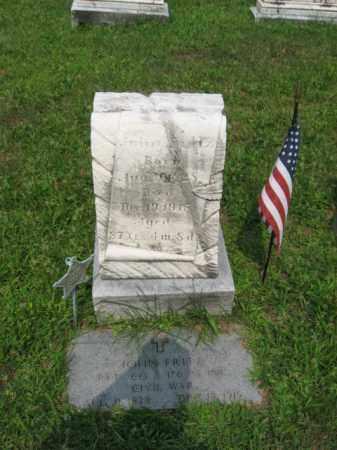 FRITZ, JOHN - Lehigh County, Pennsylvania | JOHN FRITZ - Pennsylvania Gravestone Photos