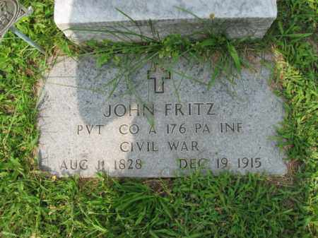 FRITZ, JACOB - Lehigh County, Pennsylvania   JACOB FRITZ - Pennsylvania Gravestone Photos