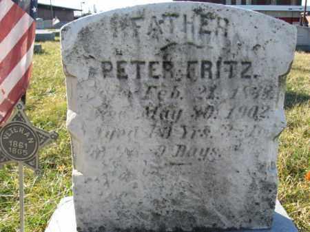 FRRITZ, PVT. PETER - Lehigh County, Pennsylvania   PVT. PETER FRRITZ - Pennsylvania Gravestone Photos