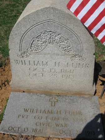 FUHR (CW), PVT. WILLIAM H. - Lehigh County, Pennsylvania   PVT. WILLIAM H. FUHR (CW) - Pennsylvania Gravestone Photos