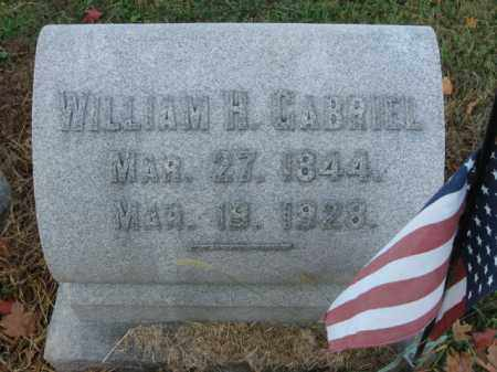 GABRIEL (CW), WILLIAM H. - Lehigh County, Pennsylvania | WILLIAM H. GABRIEL (CW) - Pennsylvania Gravestone Photos