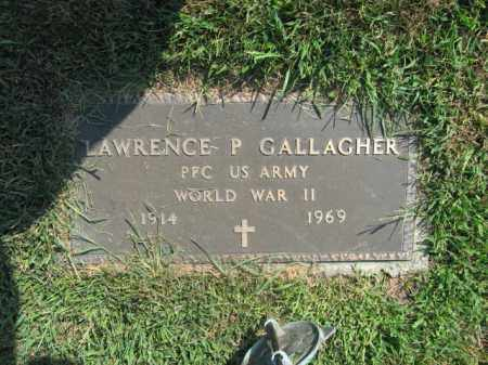 GALLAGHER, LAWRENCE  P. - Lehigh County, Pennsylvania | LAWRENCE  P. GALLAGHER - Pennsylvania Gravestone Photos