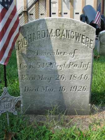 GANGWERE, RICHARD M. - Lehigh County, Pennsylvania | RICHARD M. GANGWERE - Pennsylvania Gravestone Photos