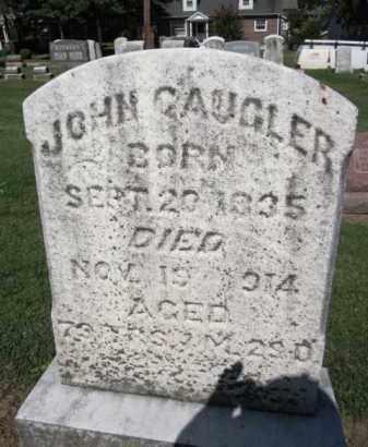 GAUGLER, JOHN - Lehigh County, Pennsylvania | JOHN GAUGLER - Pennsylvania Gravestone Photos