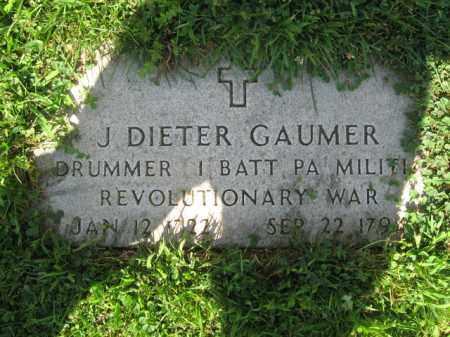 GAUMER, J. DIETER - Lehigh County, Pennsylvania | J. DIETER GAUMER - Pennsylvania Gravestone Photos