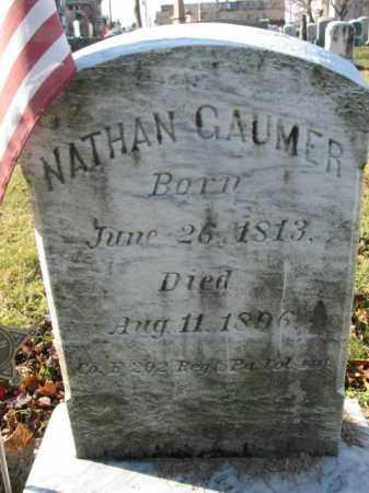 GAUMER, PVT.NATHAN - Lehigh County, Pennsylvania   PVT.NATHAN GAUMER - Pennsylvania Gravestone Photos