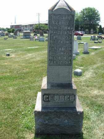 GEORGE (CW), RICHARD - Lehigh County, Pennsylvania   RICHARD GEORGE (CW) - Pennsylvania Gravestone Photos