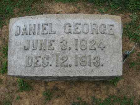 GEORGE (CW), DANIEL - Lehigh County, Pennsylvania | DANIEL GEORGE (CW) - Pennsylvania Gravestone Photos
